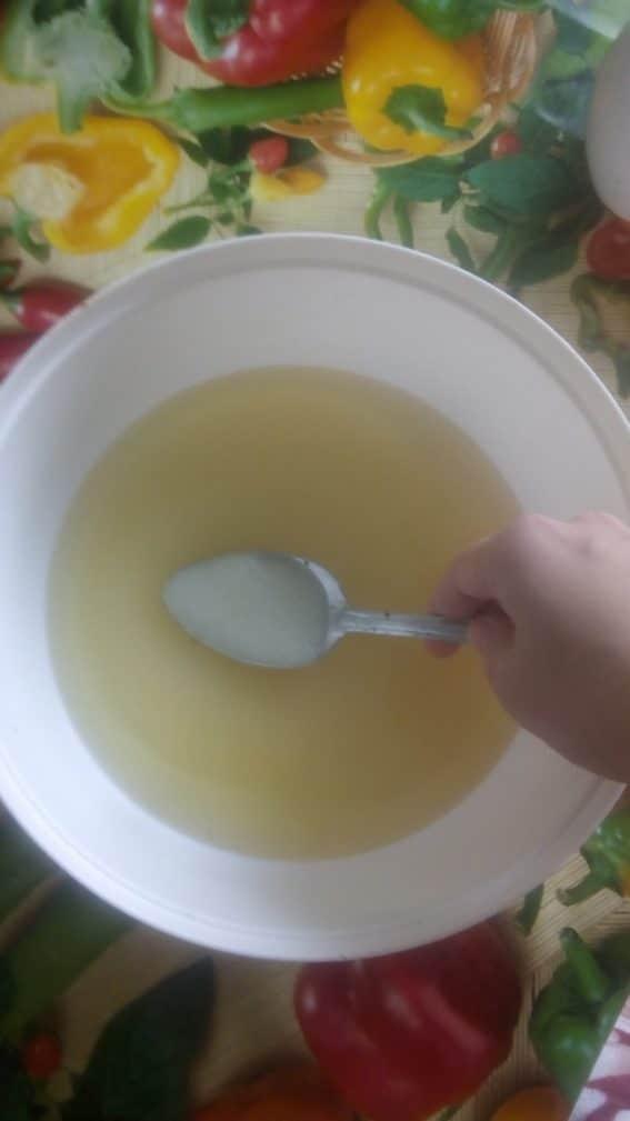 Фото рецепта - Постное печенье на рассоле - шаг 2