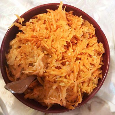 Домашний салат из корейской моркови - рецепт с фото