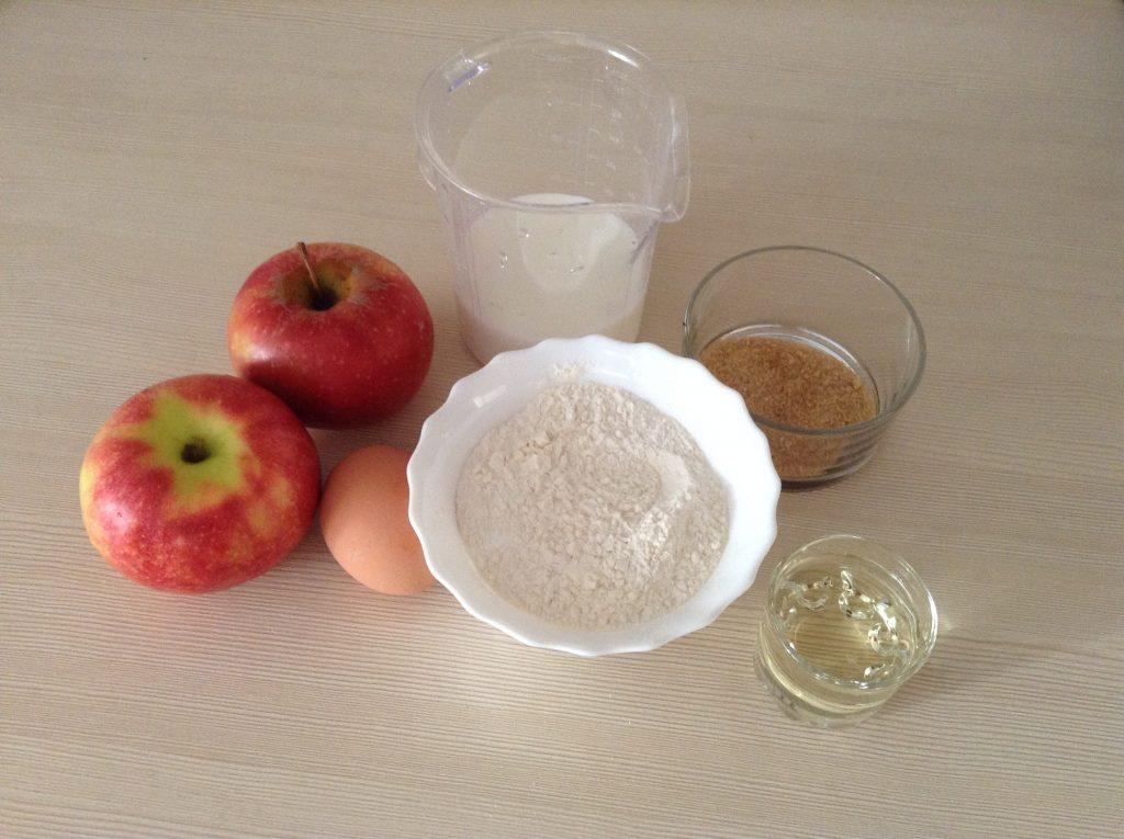 Фото рецепта - Жареные яблоки в кляре - шаг 1