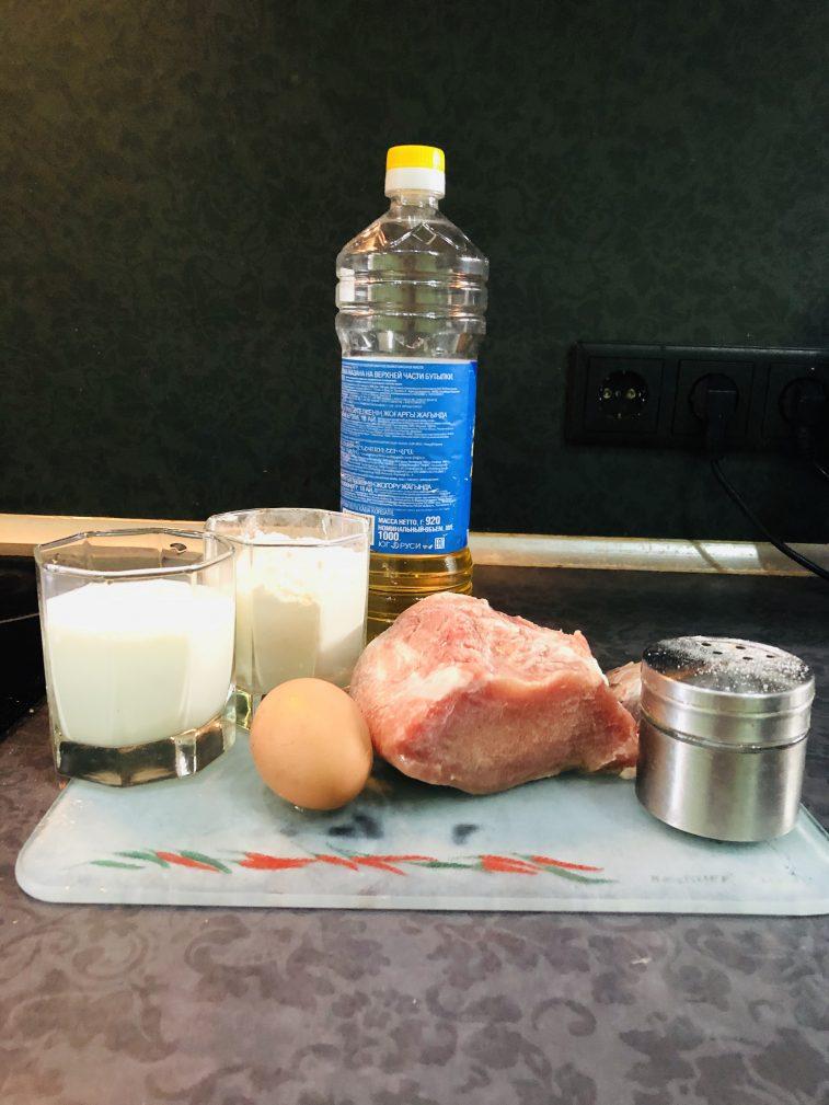 Фото рецепта - Свиная отбивная в тесте (кляре) - шаг 1