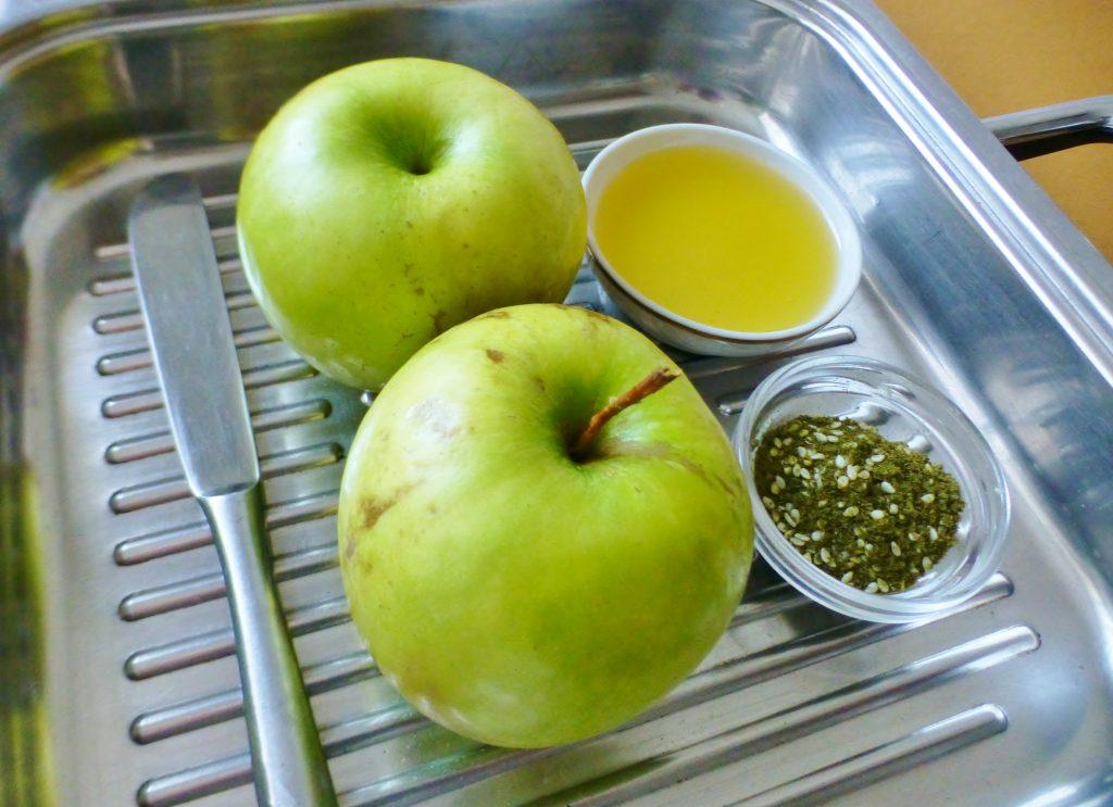 Фото рецепта - Жареные яблоки на гриле - шаг 1