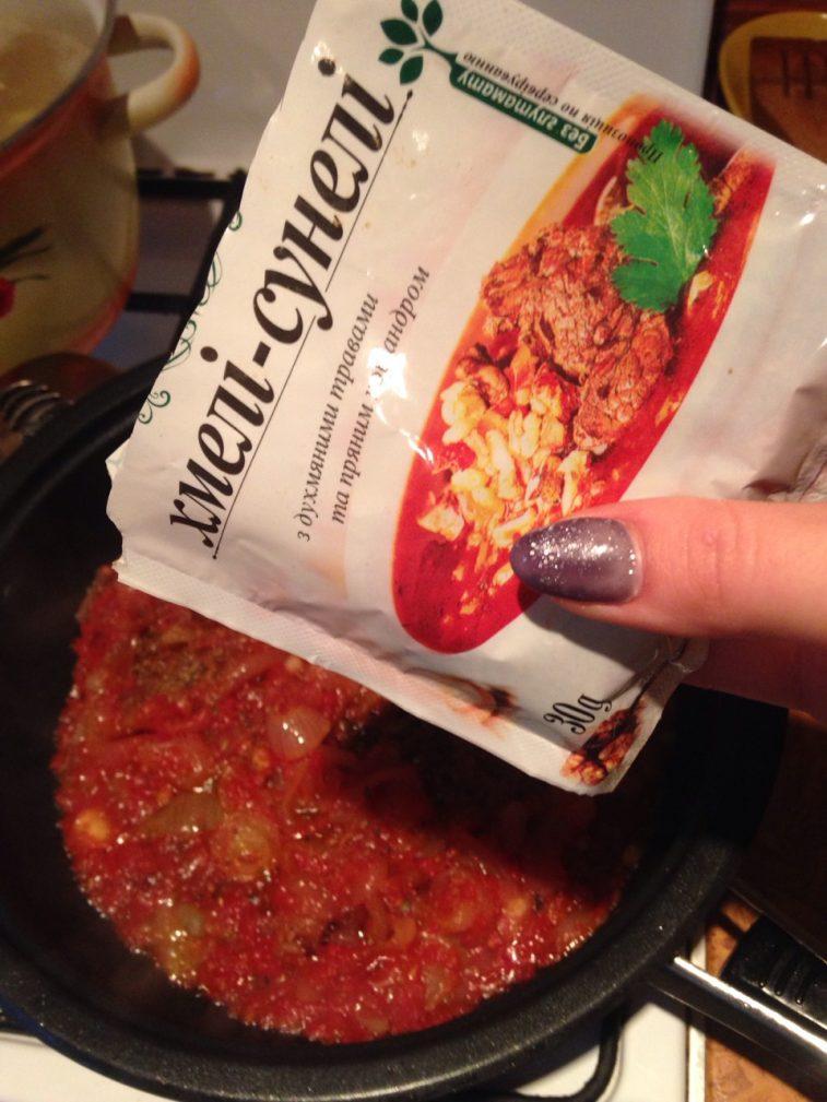 Фото рецепта - Пряный луковый суп на пиве с фрикадельками - шаг 3