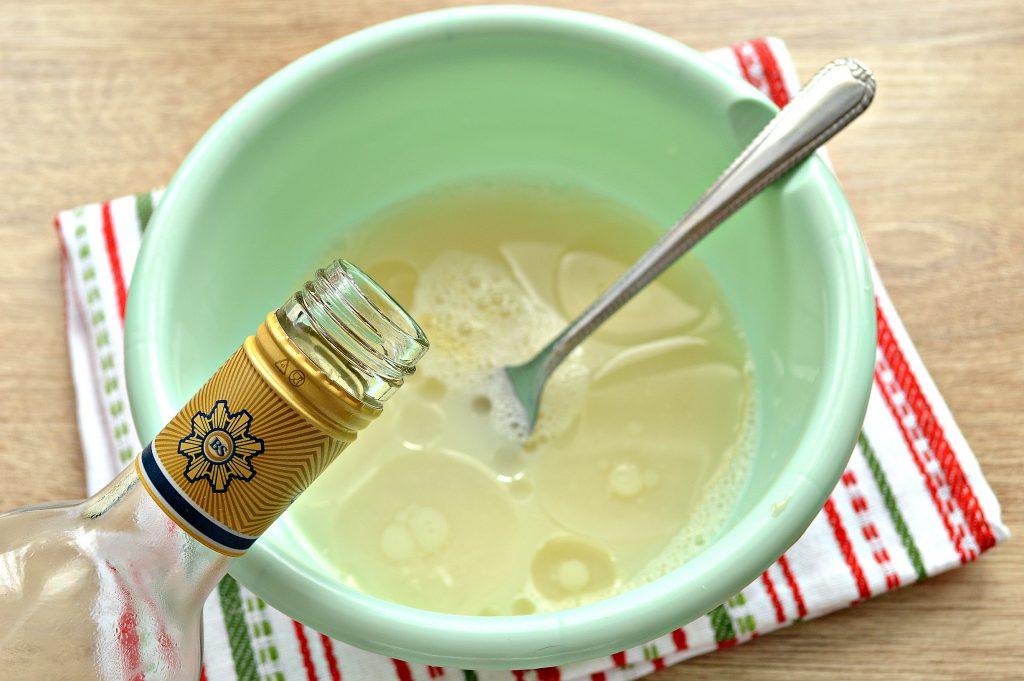 Фото рецепта - Тесто для чебуреков на водке - шаг 2