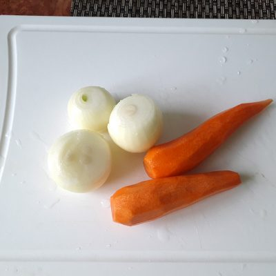 Фото рецепта - Говядина, тушенная в казане - шаг 3