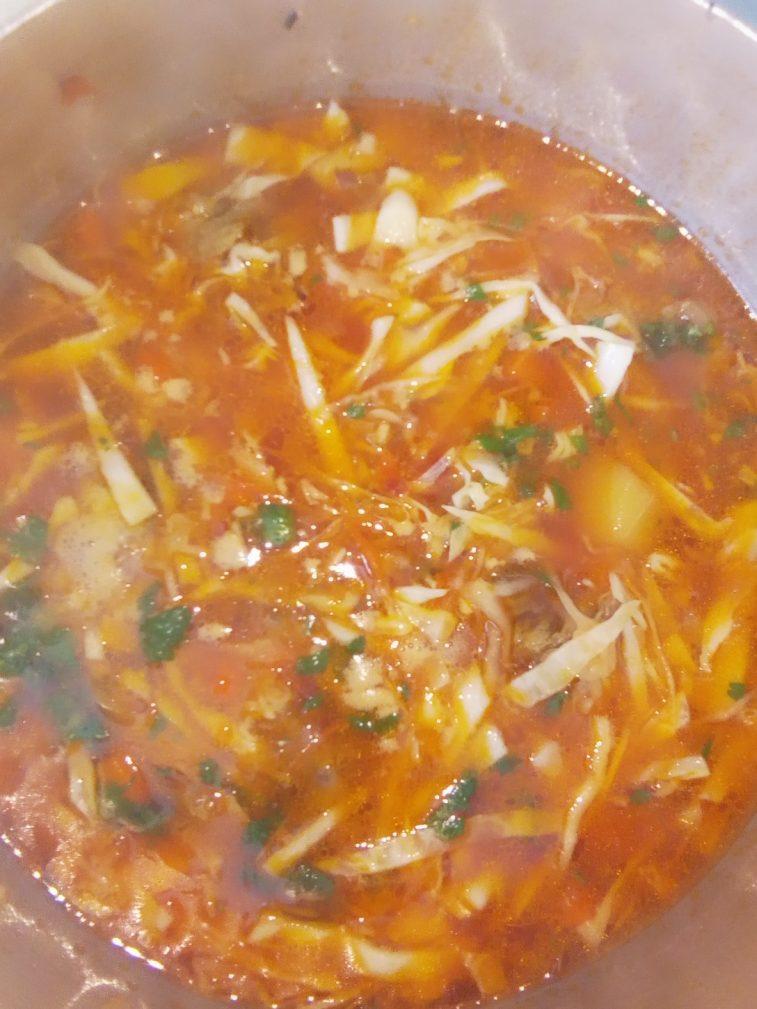 Фото рецепта - Борщ классический украинский со свининой - шаг 5