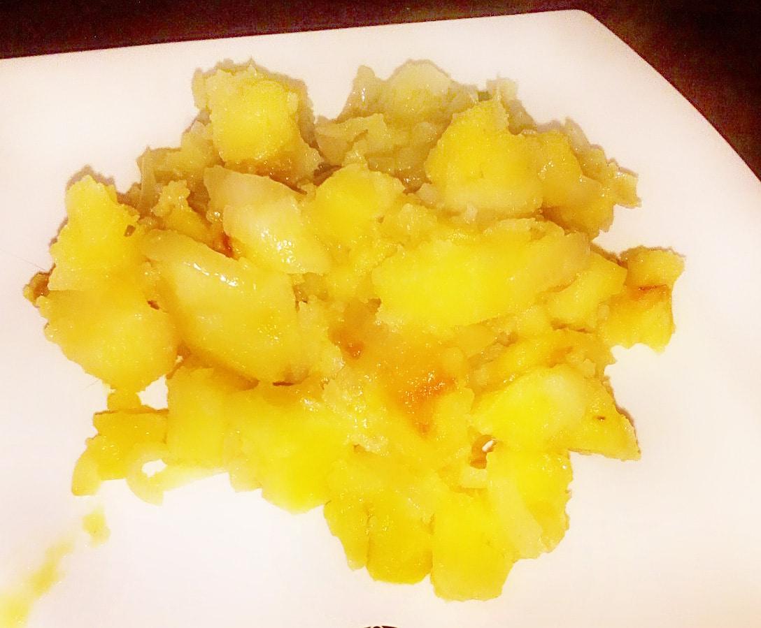 Гарнир – картошка по домашнему с луком