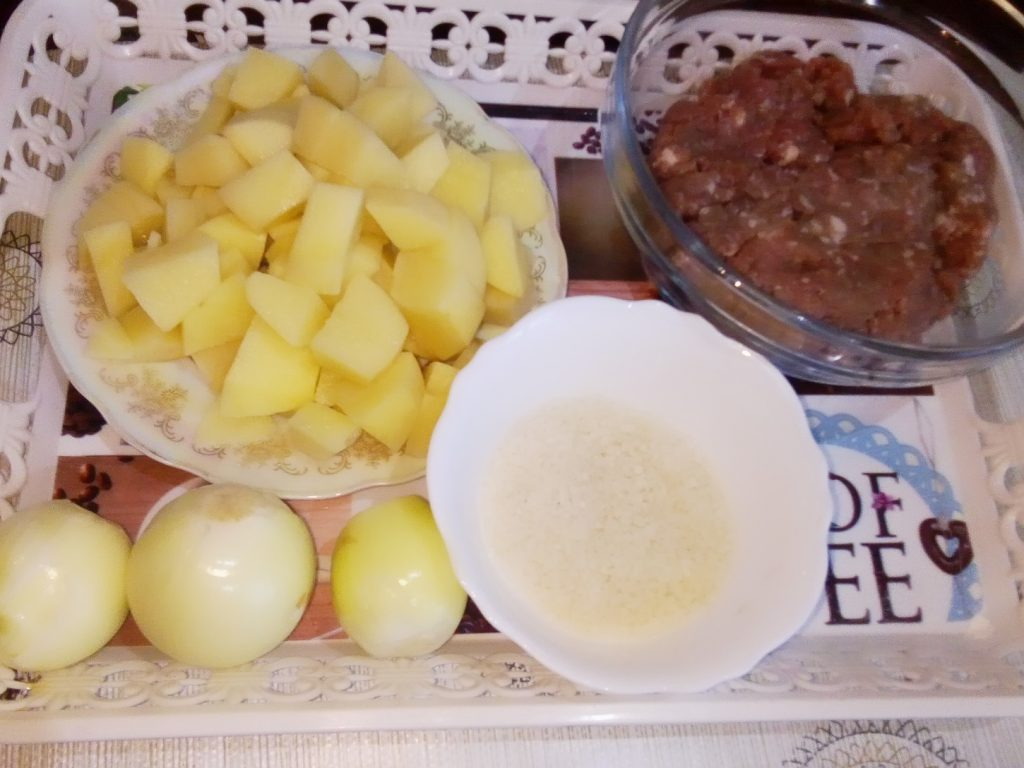 Фото рецепта - Суп с фрикадельками из говядины - шаг 1