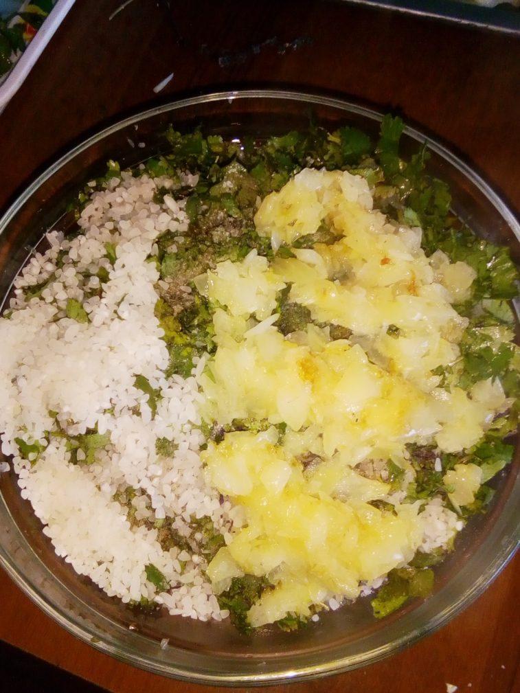 Фото рецепта - Долма из виноградных листьев с фаршем - шаг 5
