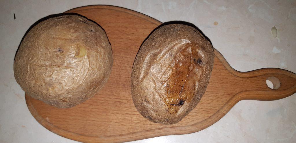 Фото рецепта - Фаршированная картошка, запеченная в духовке - шаг 1