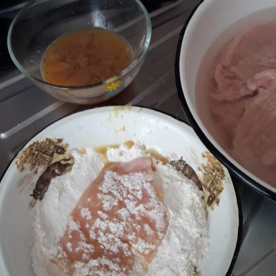 Фото рецепта - Куриные отбивные - шаг 6