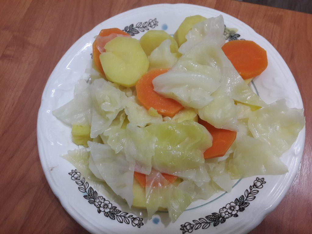 Фото рецепта - Башкирский элеш с курицей и овощами - шаг 4