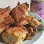 Фото рецепта - Курица, запеченная в майонезом соусе - шаг 4