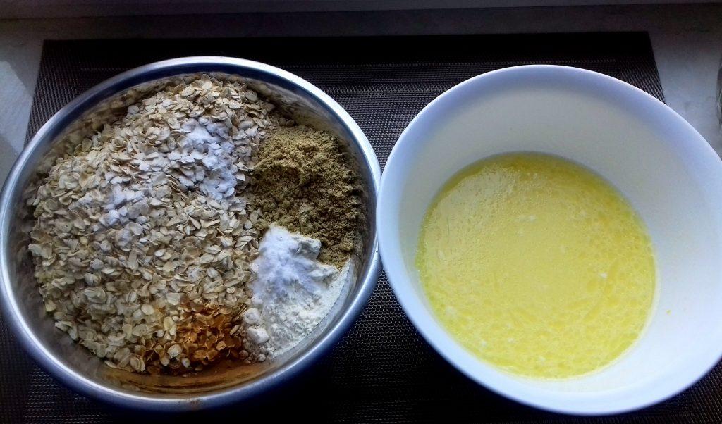 Фото рецепта - Овсяное печенье на молоке с бананами без сахара - шаг 3
