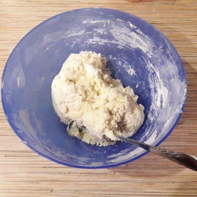 Фото рецепта - Жареные ленивцы-пельмени - шаг 3