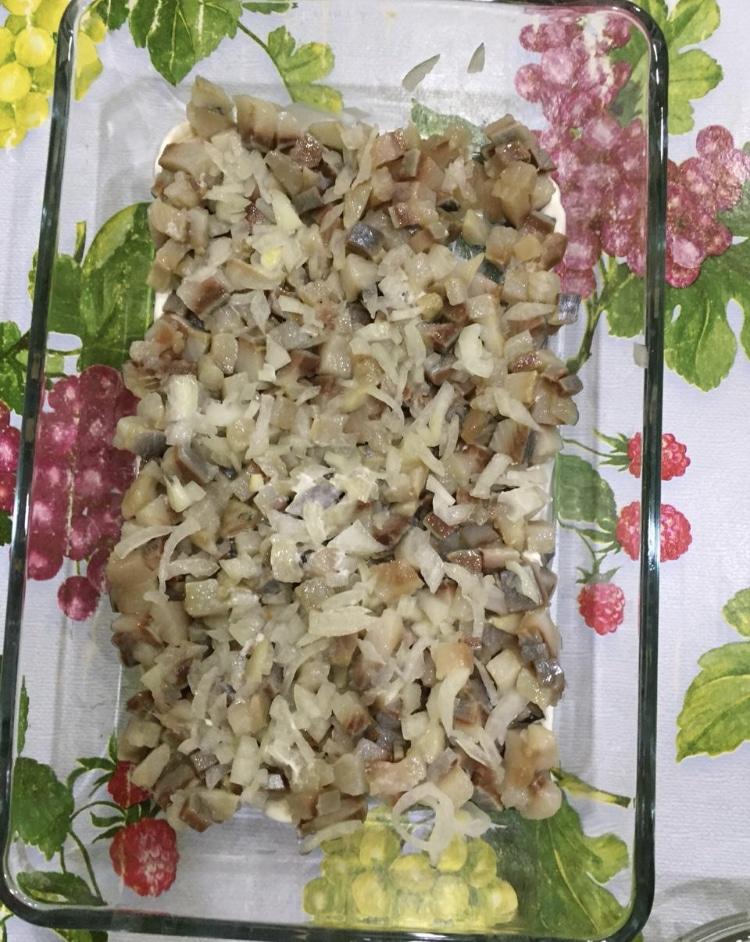 Фото рецепта - Рецепт салата «Селёдка под шубой» - шаг 4