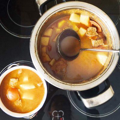 Гуляш по-венгерски с телятиной - рецепт с фото