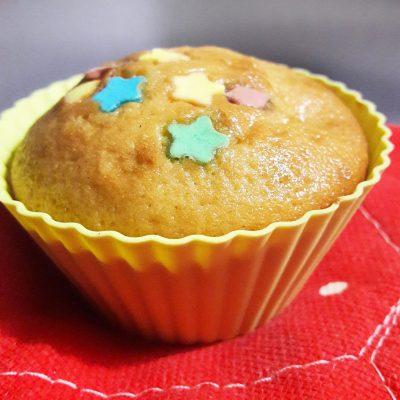 Кексики с изюмом (тесто на молоке) - рецепт с фото