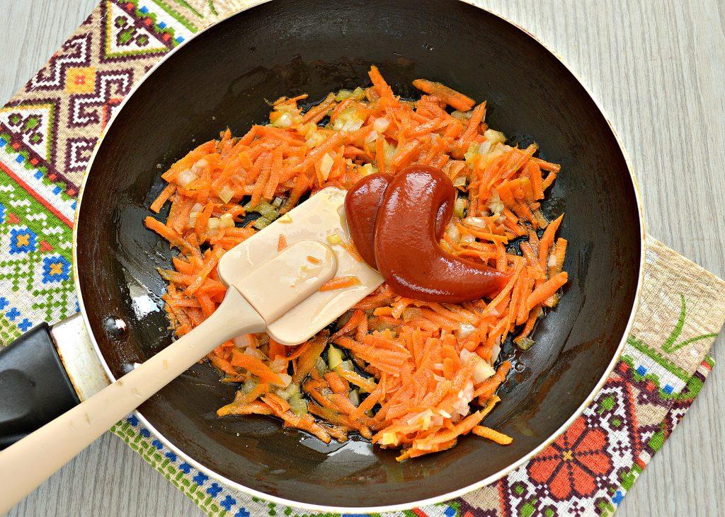 Фото рецепта - Русские щи из квашеной капусты - шаг 4