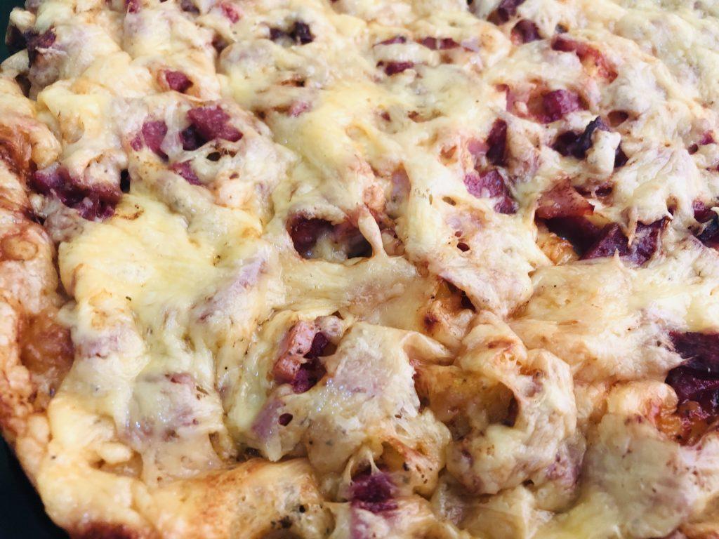 Фото рецепта - Пицца на майонезе и сметане - шаг 6