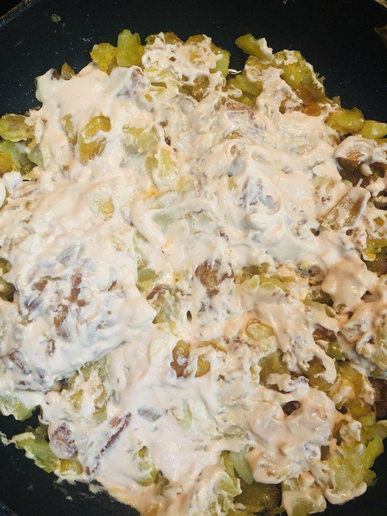 Фото рецепта - Жареный картофель по-новому - шаг 3