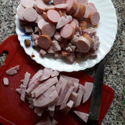 """Фото рецепта - Суп """"Мясная солянка"""" сборная - шаг 3"""