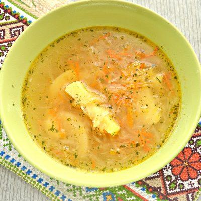Русские щи из квашеной капусты - рецепт с фото