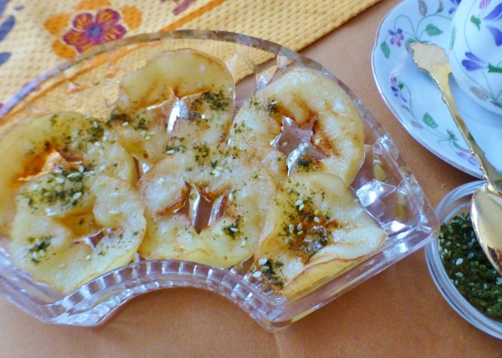 Фото рецепта - Жареные яблоки на гриле - шаг 6