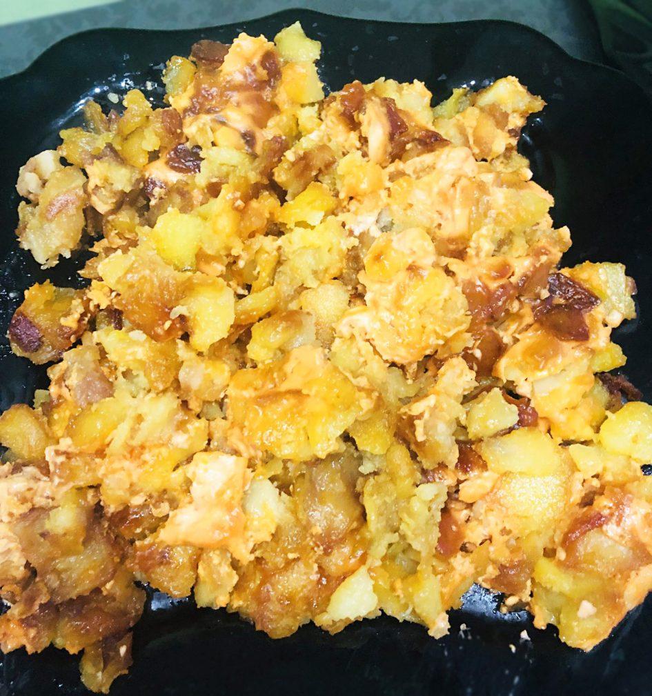 Фото рецепта - Жареный картофель по-новому - шаг 4