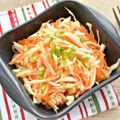 Овощной салат с дайконом - рецепт с фото