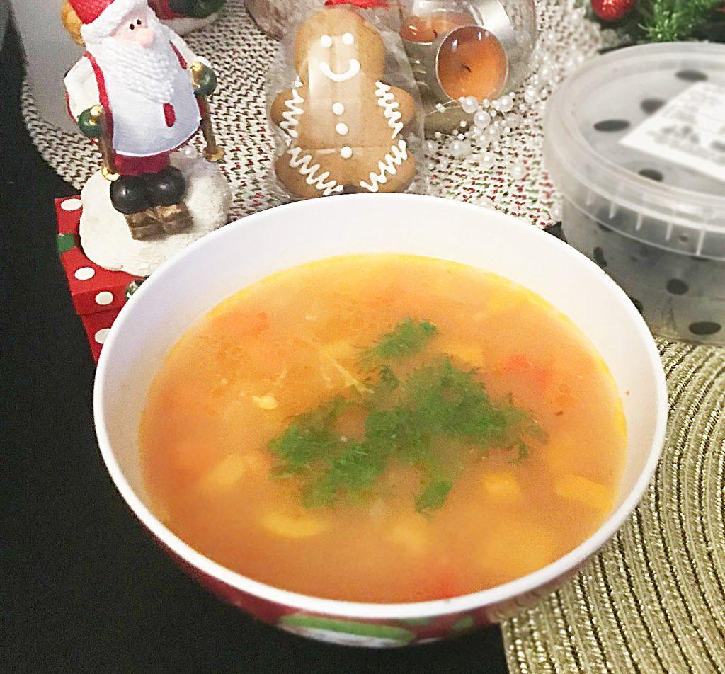 Фото рецепта - Овощной суп с макаронами - шаг 8