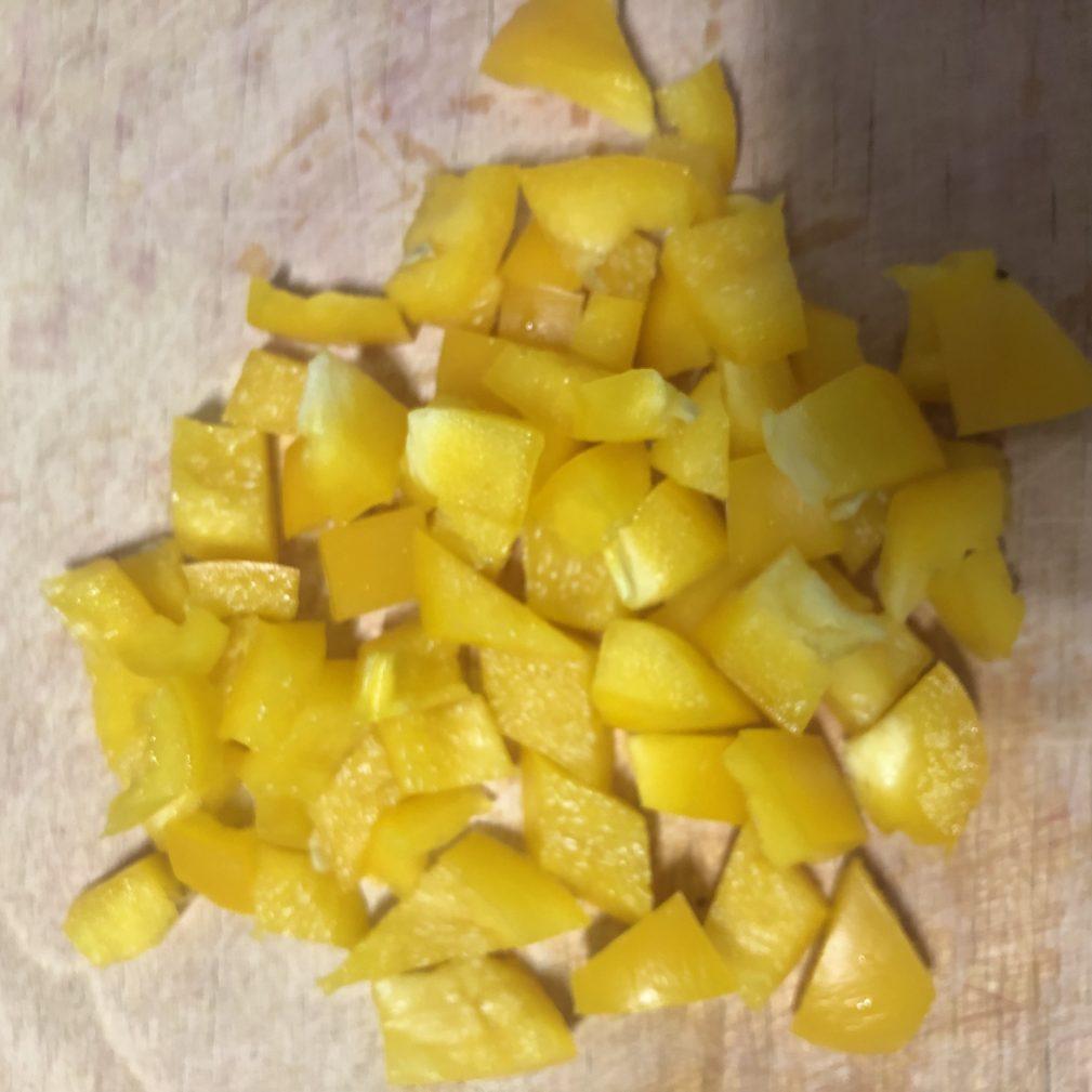 Фото рецепта - Мини-омлет, запеченный с овощами - шаг 3