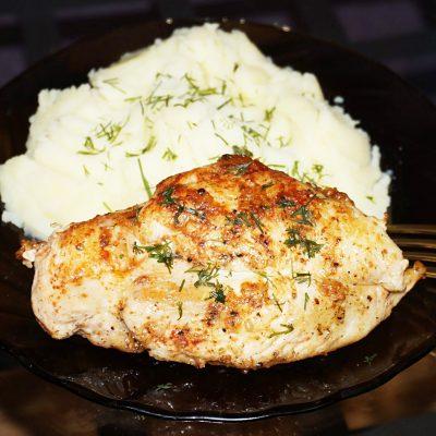 """""""Ужин на скорую руку"""" из куриной грудки - рецепт с фото"""