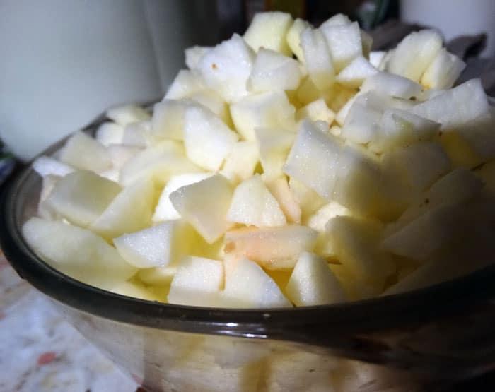 Фото рецепта - Запеченные яблоки с медом - шаг 2