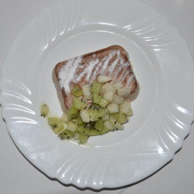 Фото рецепта - Сливочное желе c фруктами - шаг 6
