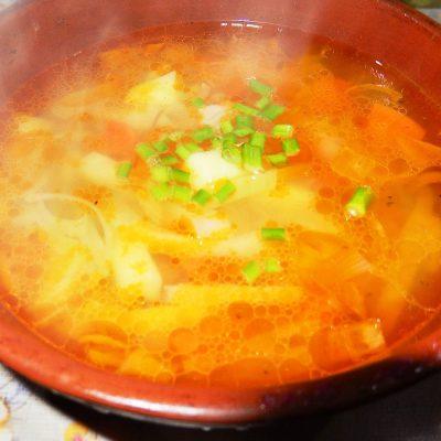 Вегетарианские щи с грибами - рецепт с фото
