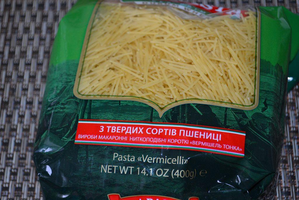 Фото рецепта - Сливочно-сырный суп с вермишелью - шаг 6