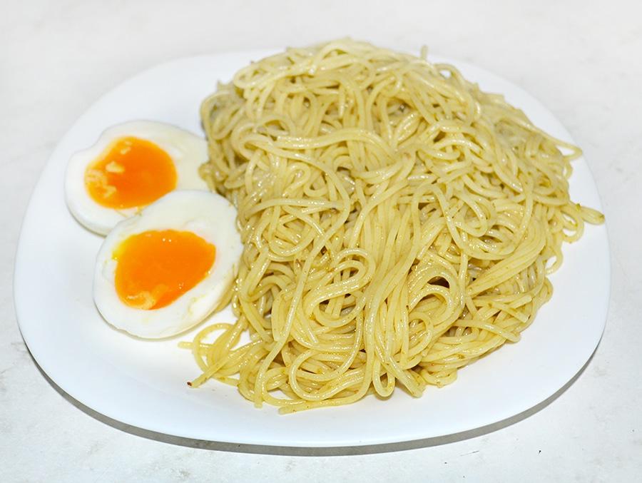 Спагеттини с соусом Песто