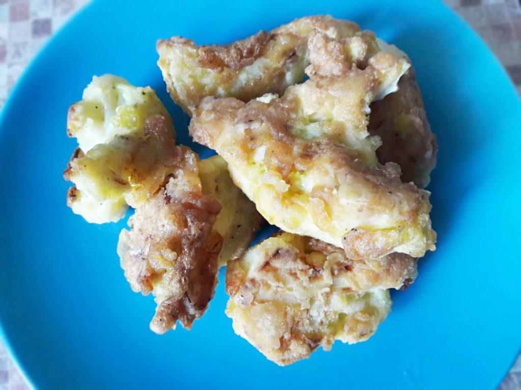 Фото рецепта - Жареная цветная капуста в яичном кляре - шаг 6