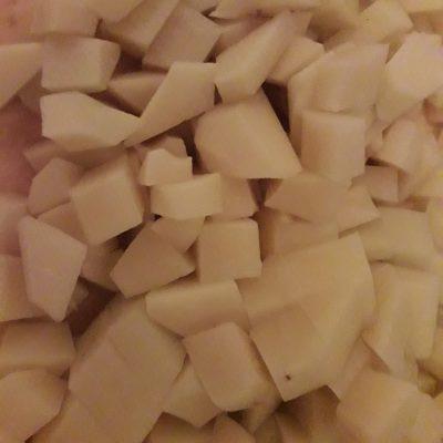 Фото рецепта - Сырный куриный суп с картофелем - шаг 3