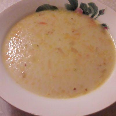 Сырный куриный суп с картофелем - рецепт с фото