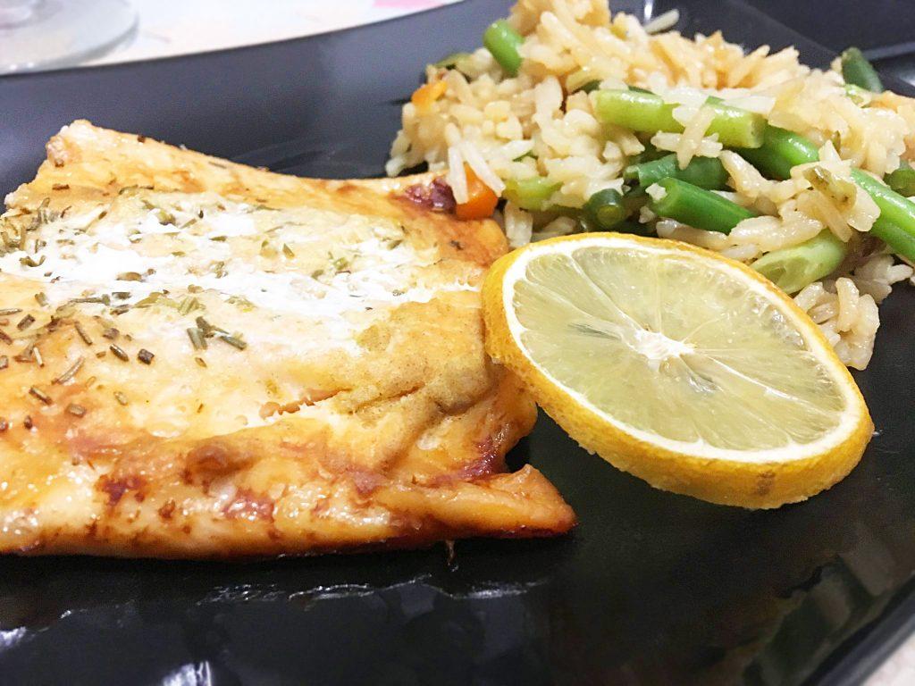 Запечь лосось в духовке в фольге рецепт