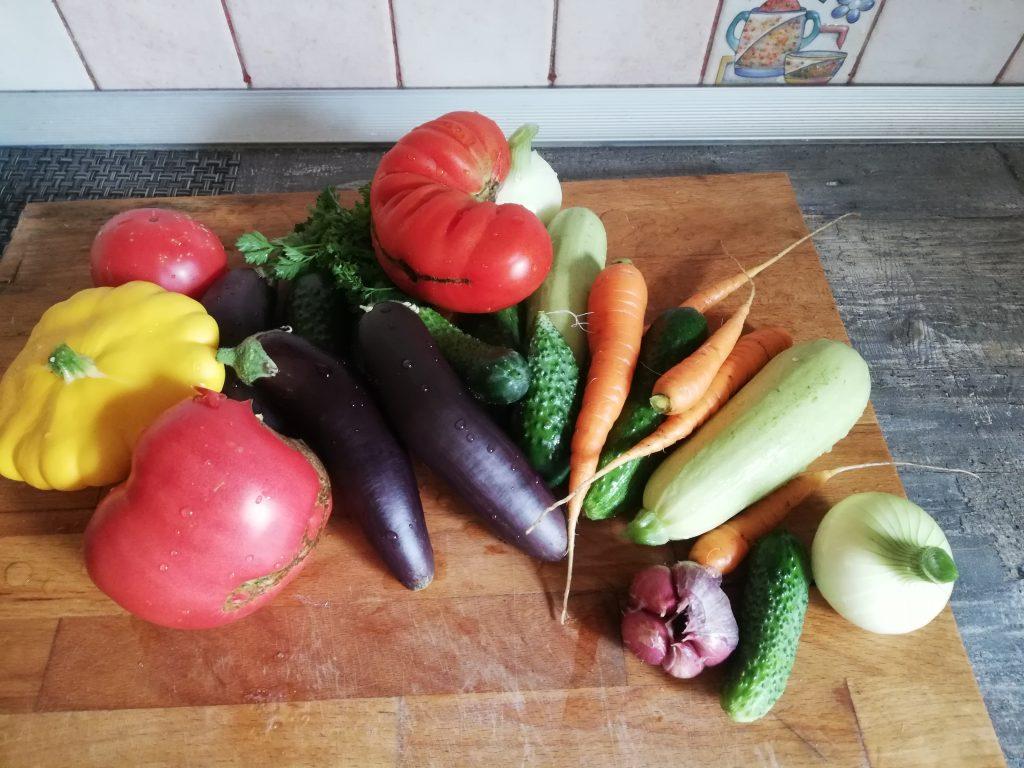 Фото рецепта - Овощи на гриле без масла - шаг 1