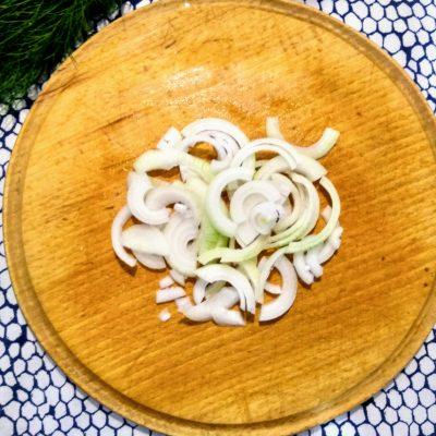Фото рецепта - Рагу из свинины с картофелем и зеленым горошком - шаг 3