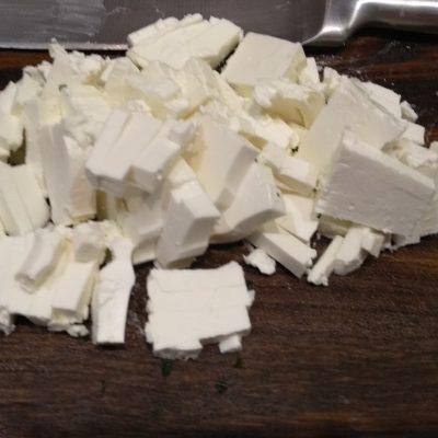 Фото рецепта - Диетический винегрет с сыром фета - шаг 6