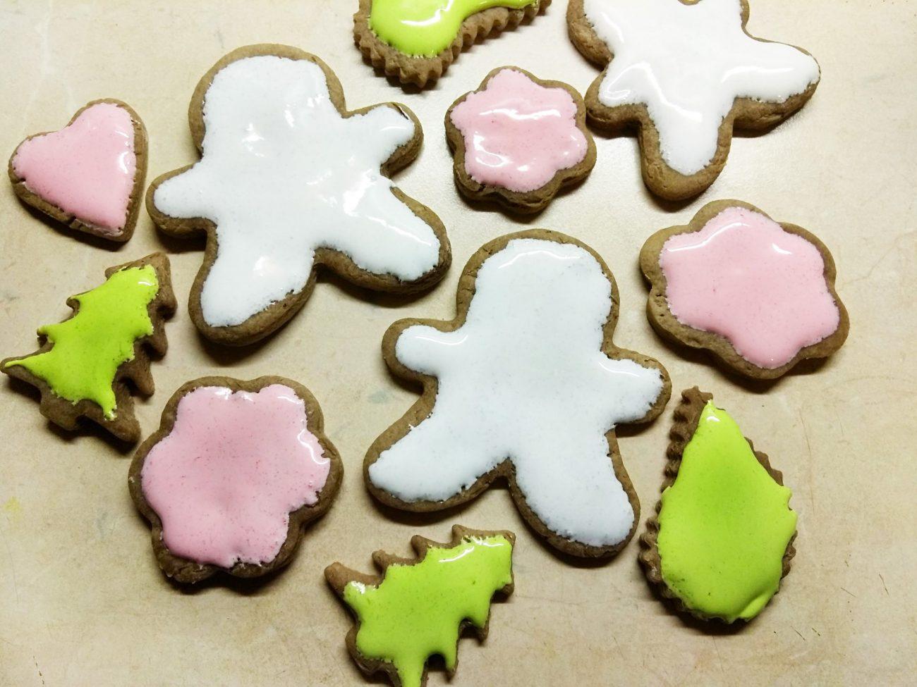 """Имбирное печенье """"Веселого Рождества"""""""