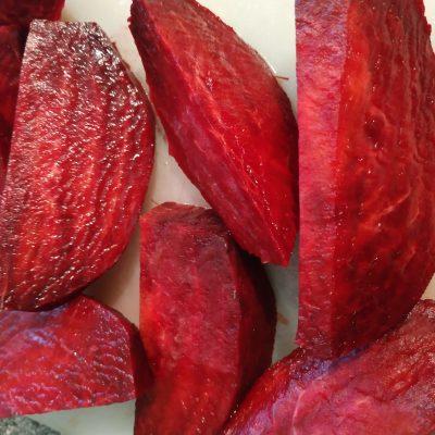 Фото рецепта - Винегрет из запечённых овощей с огурцами - шаг 1