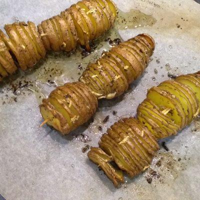 Фото рецепта - Печеный картофель в оригинальном исполнении - шаг 5