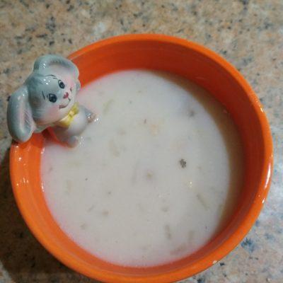 Рыбный суп с плавленым сыром и рисом - рецепт с фото