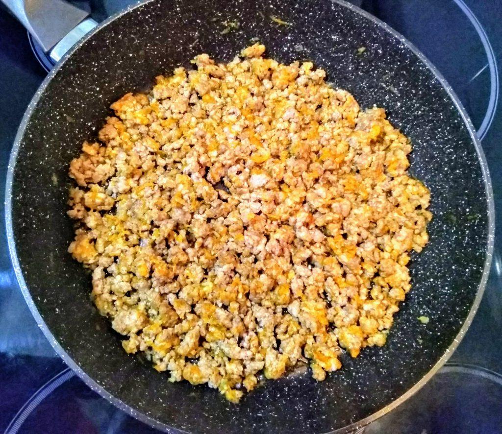 Фото рецепта - Итальянские ракушки фаршированные фаршем (Конкильони) - шаг 2