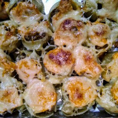 Фото рецепта - Итальянские ракушки фаршированные фаршем (Конкильони) - шаг 6
